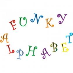 Tappit - Κουπάτ της FMM Funky Λατινική Αλφάβητος και Νούμερα