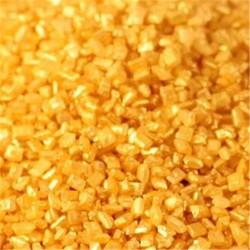Κρυσταλλική Ζάχαρη 40gr - Χρυσό Μεταλλικό - (Crystals-Metallic Gold)