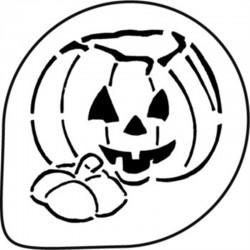 Διακοσμητικό Στένσιλ - Κολοκύθα Halloween